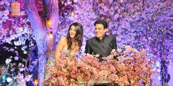 Nargis And Manoj Hosing The Show Photo Clicked At TOIFA