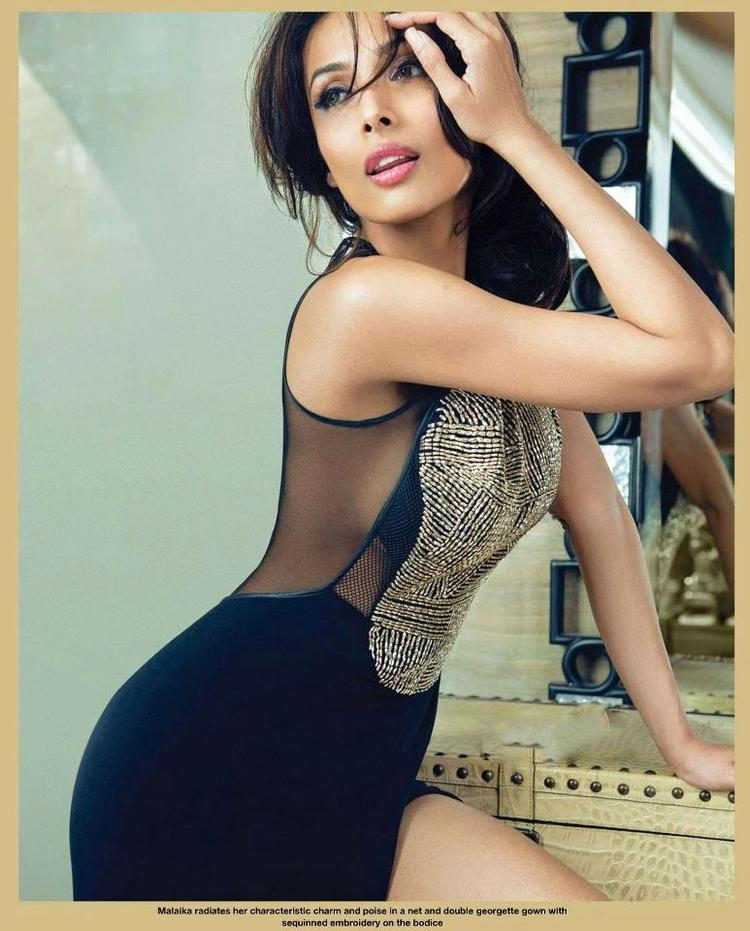 Malaika Arora Khan Spicy Look Photo Shoot For Hello! India April 2013