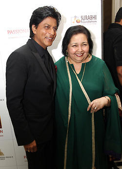 Shahrukh And Pamela Snapped At Surabhi Foundation Fundraiser Event
