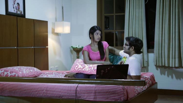 Sree Ram And Amitha Bed Room Photo Still From Movie Chemistry