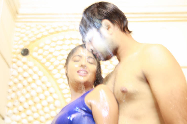 Sree Ram And Amitha Hot Expression Photo Still From Movie Chemistry