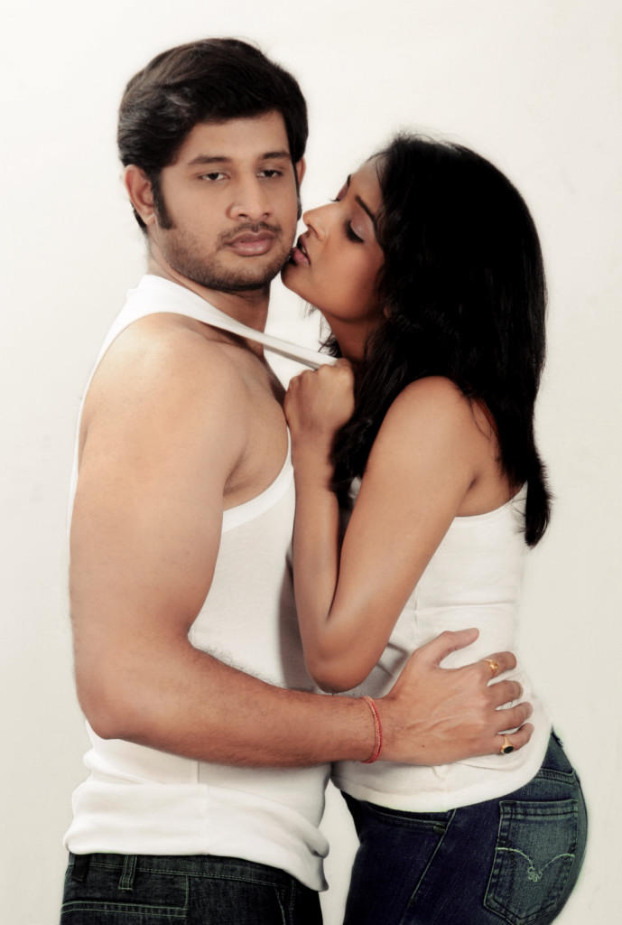 Sree Ram And Amitha Kissing Photo Still From Movie Chemistry