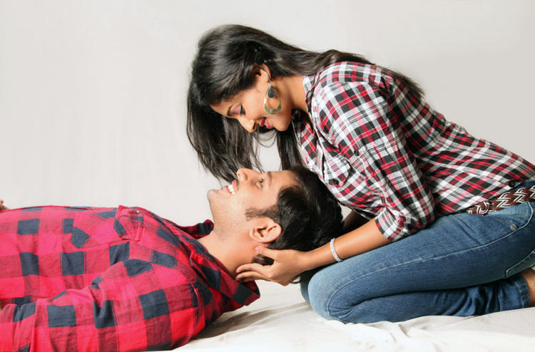 Sree Ram And Amitha Latest Photo Still From Movie Chemistry