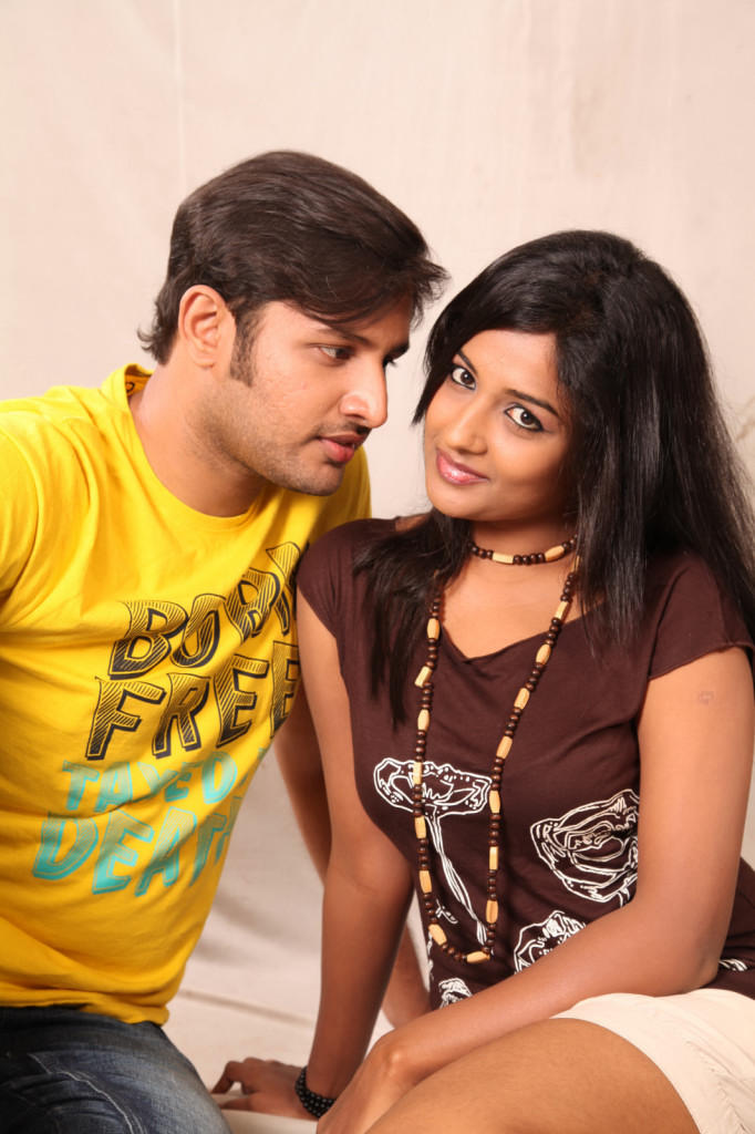 Sree Ram And Amitha Sexy Look Photo Still From Movie Chemistry