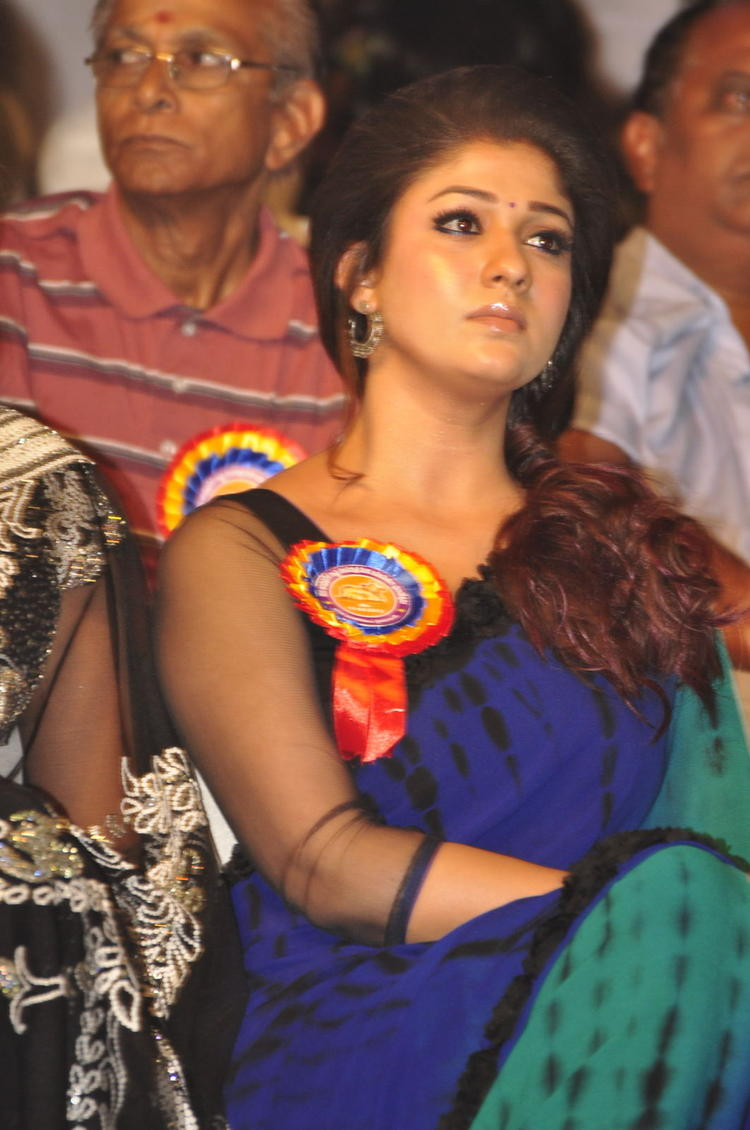 Nayanthara Beautiful Face Look At Nandi Awards 2011 Function