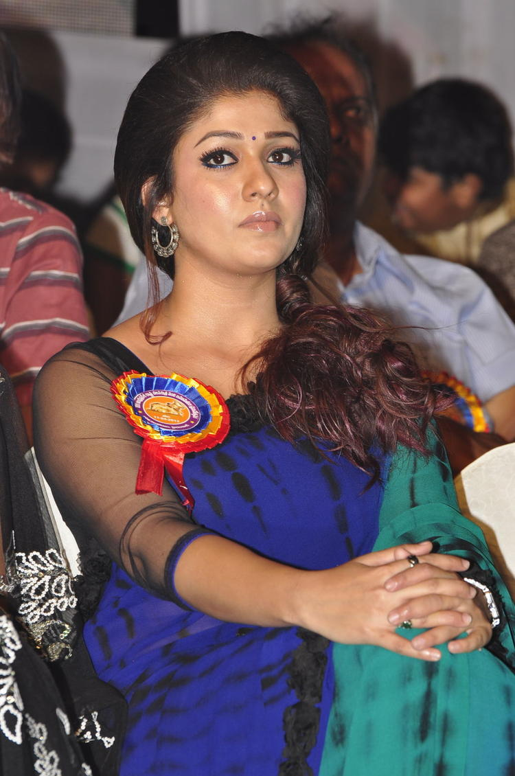 Nayanthara Charming Face Look At Nandi Awards 2011 Function