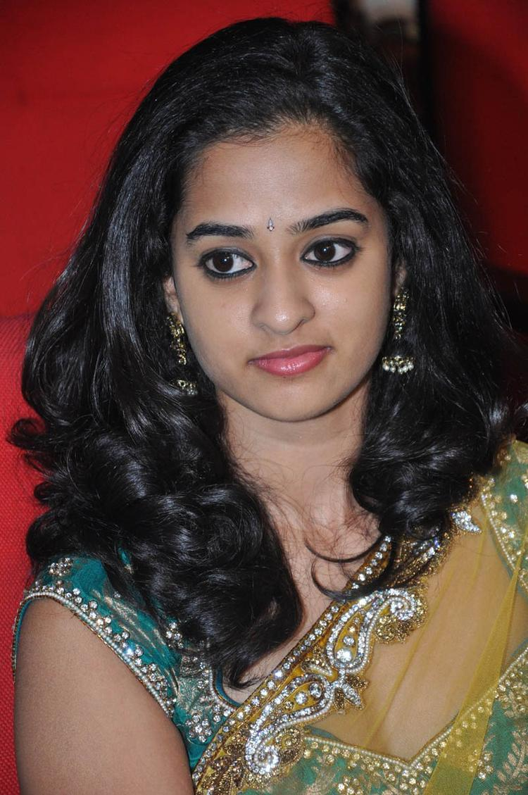 Nandita Charming Face Look At Prema Katha Chitram Audio Release Function