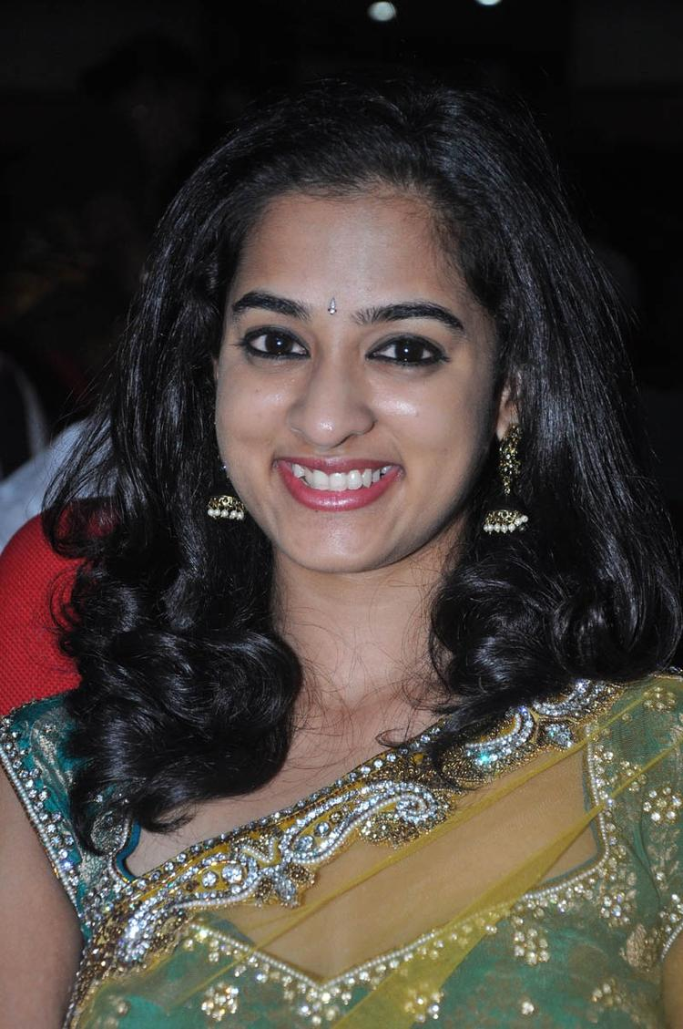 Nandita Cute Smiling Look At Prema Katha Chitram Audio Release Function