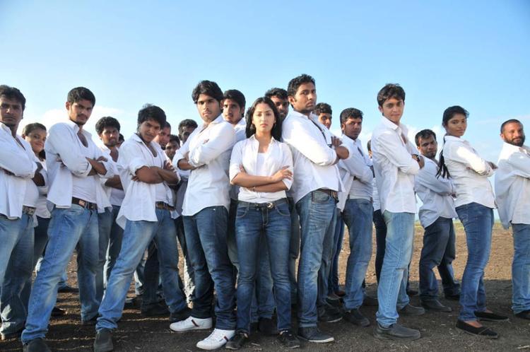 Sirish And Yami Rocking Dance Photo Still From Movie Gouravam