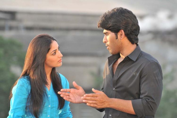 Sirish And Yami Stunning Look Photo Still From Movie Gouravam