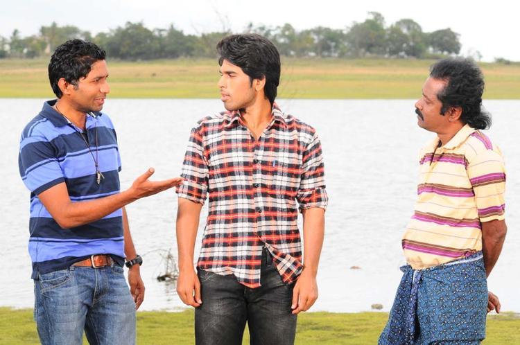 Sirish Latest Working Photo Still Of Movie Gouravam