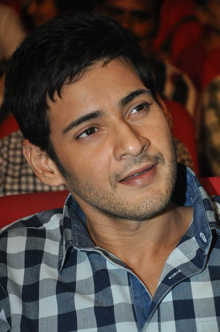 Mahesh Cute Expression Photo Still At Premakadha Chitram Audio Release
