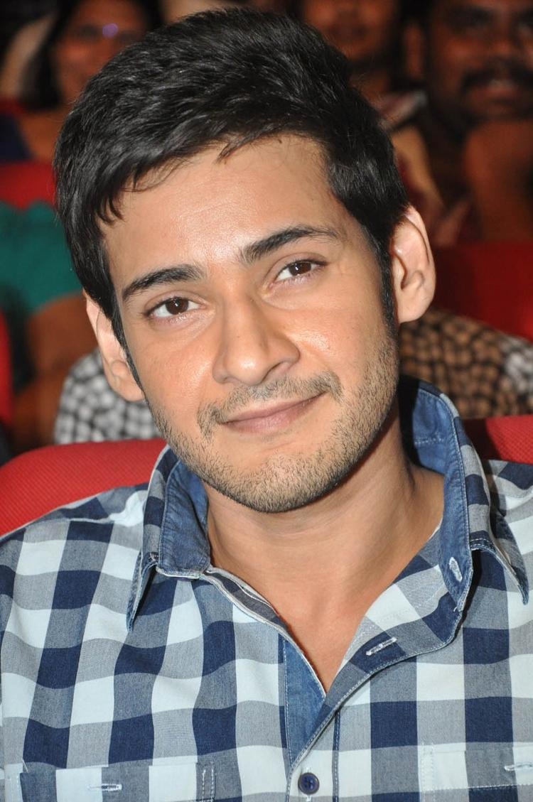 Mahesh Smiling Photo Still At Premakadha Chitram Audio Release