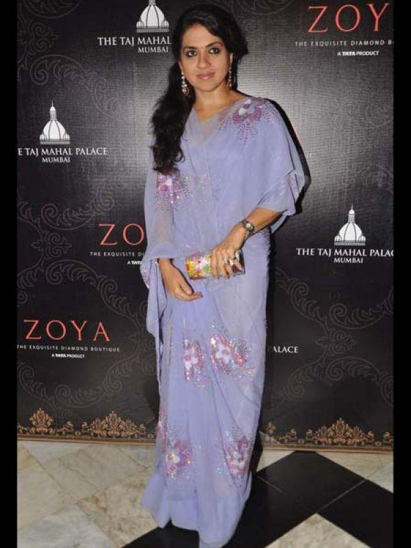 Shaina NC Glamour Look At Launch of Zoya Jewels Of The Crown Jewellery Line