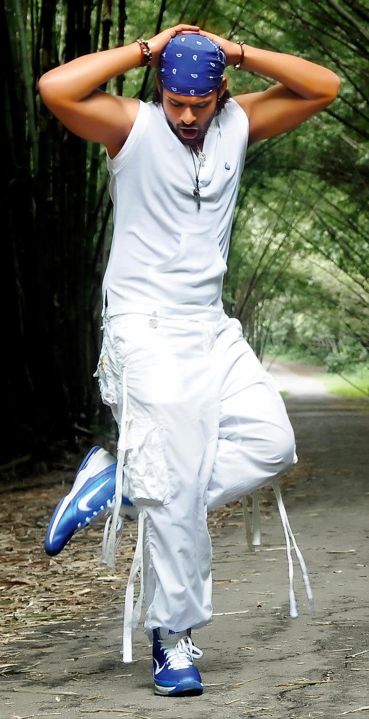 Sai Dharam Tej NIce And Cool Pose Still From Rey Movie