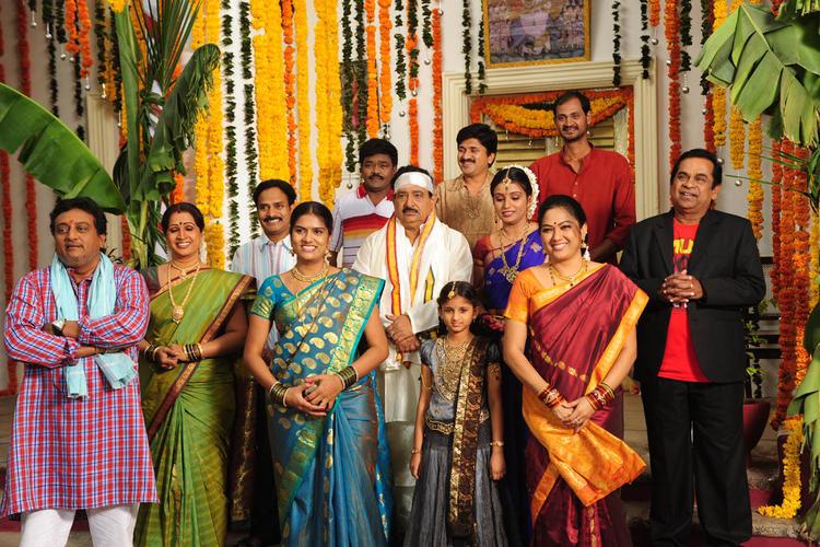 Family Photo Still From Movie Band Balu