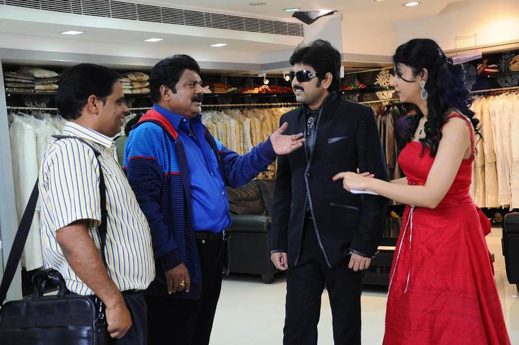 Kamalakar And Kamna Exclusive Photo Still From Movie Band Balu