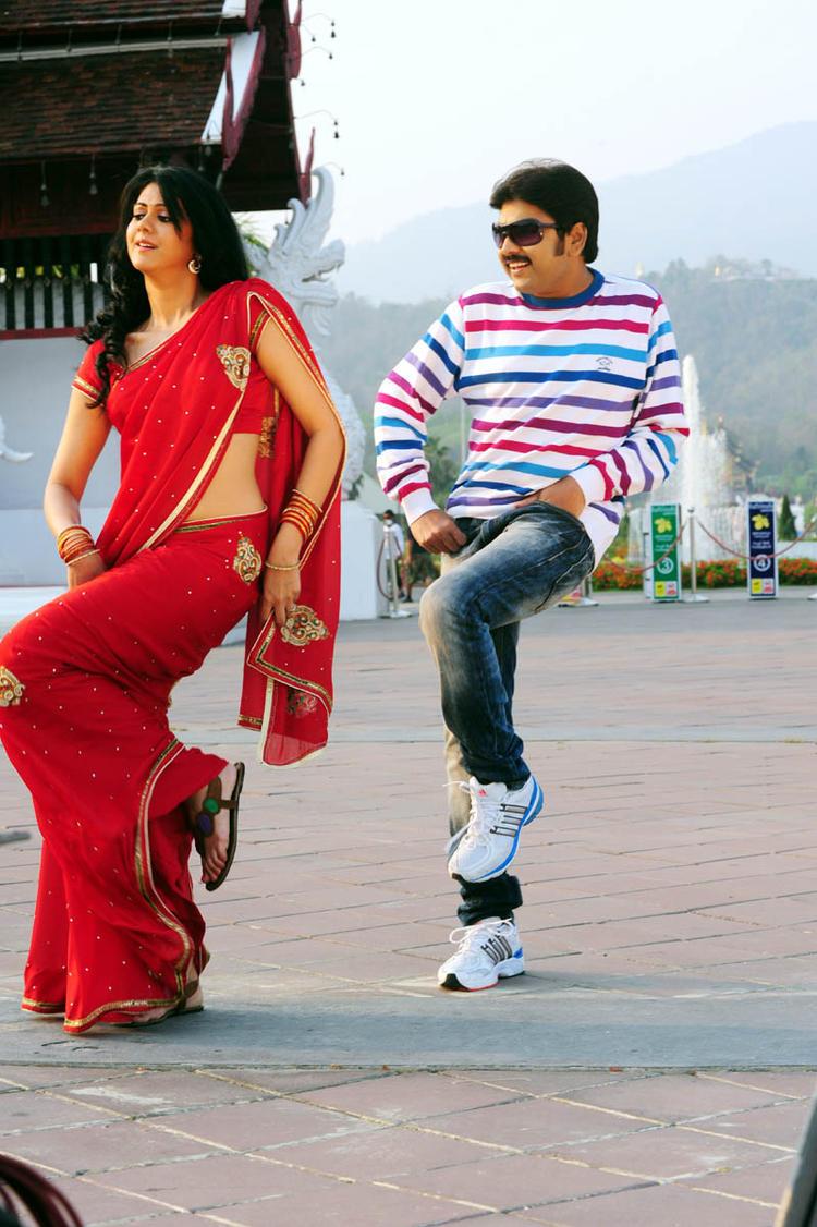 Kamalakar And Kamna Rocking Dance Photo Still From Movie Band Balu