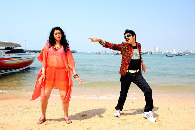 Kamalakar And Kamna Sizzling Dance Photo Still From Movie Band Balu