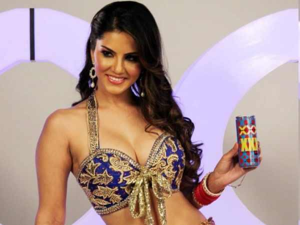 Sunny Leone Posed With Sachiin J Joshi's XXX Energy Drink