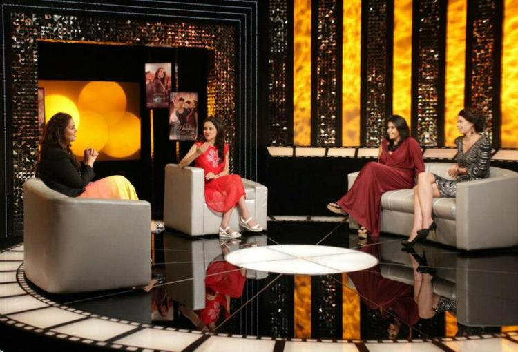 Huma,Ekta And Kalki Dicussion With Anupama On The Front Row Show