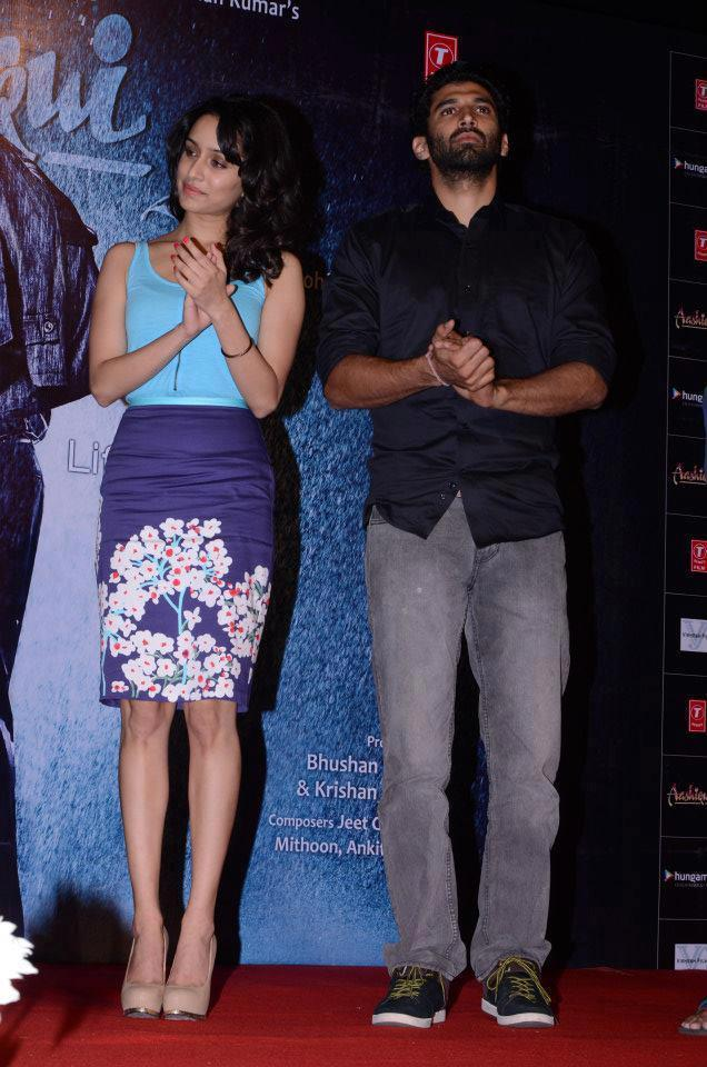Shraddha And Aditya Present At Aashiqui 2 Movie Music Launch Event