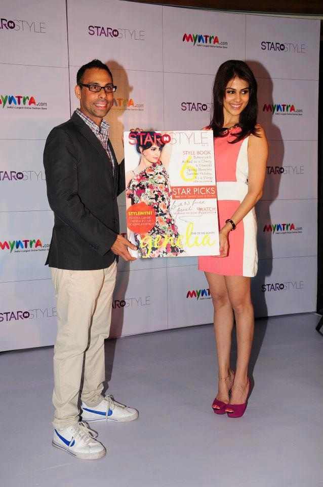 Genelia Launces 3rd Edition Of Star N Style Photo Clicked