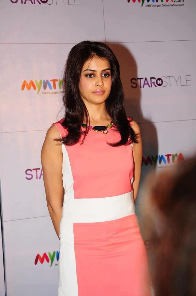 Genelia Snapped At 3rd Edition Of Star N Style Launch