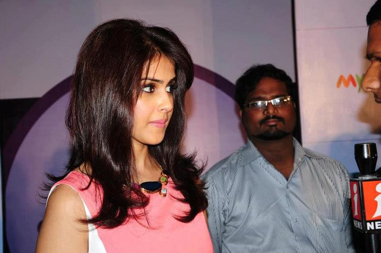 Genelia Spotted At 3rd Edition Of Star N Style Launch