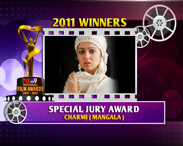 Charmy Kaur Is The Winner Of Special Jury Award For Mangala Movie