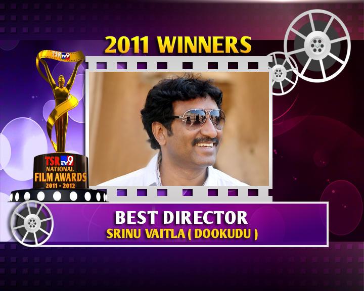 Sreenu Vaitla Is The Winner Of Best Director For Dookudu Movie