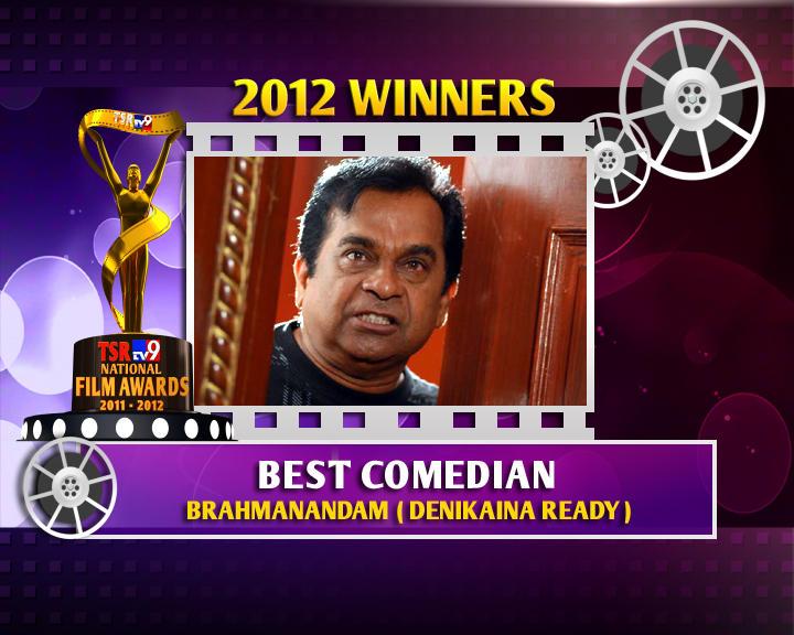 Brahmanandam Is The Winner Of Best Comedian For Denikaina Ready Movie