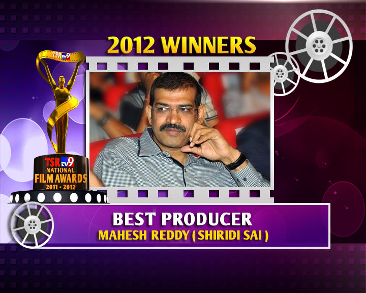 Mahesh Reddy Is The Winner Of Best Producer For Shirdi Sai Movie