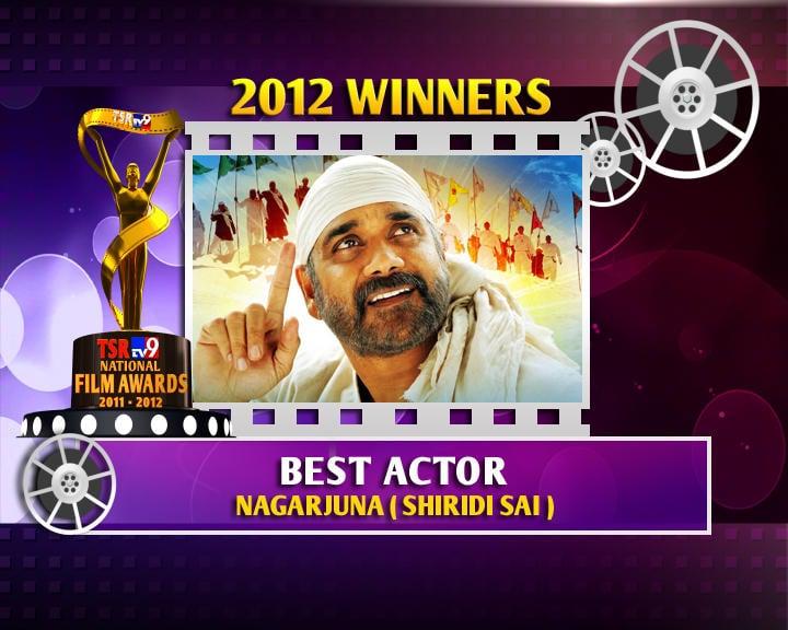 Nagarjuna Is The Winner Of Best Actor For Shirdi Sai Movie