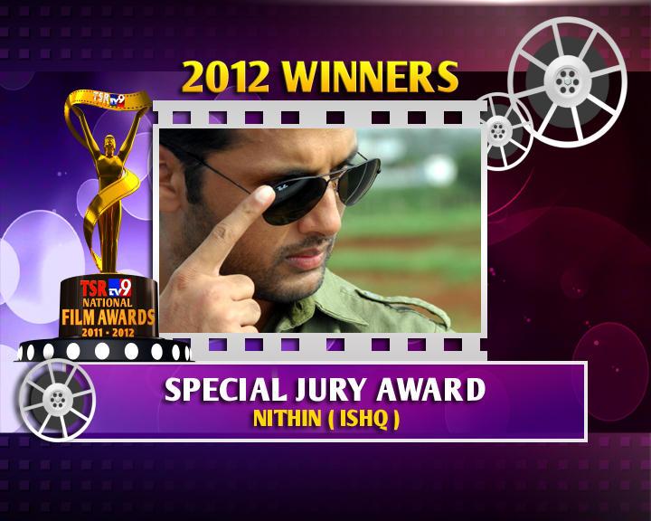 Nitin Kumar Reddy Is The Winner Of Special Jury Award For Ishq Movie