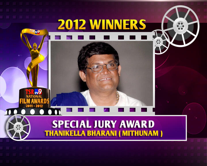 Tanikella Bharani Is The Winner Of Special Jury Award For Mithunam Movie