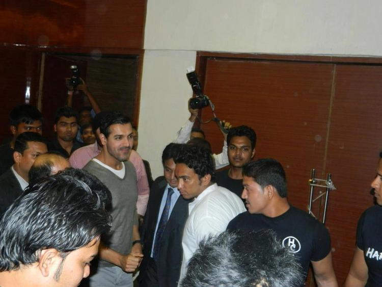 John Abraham Spotted At Jaipur For Promotion Of Shootout At Wadala