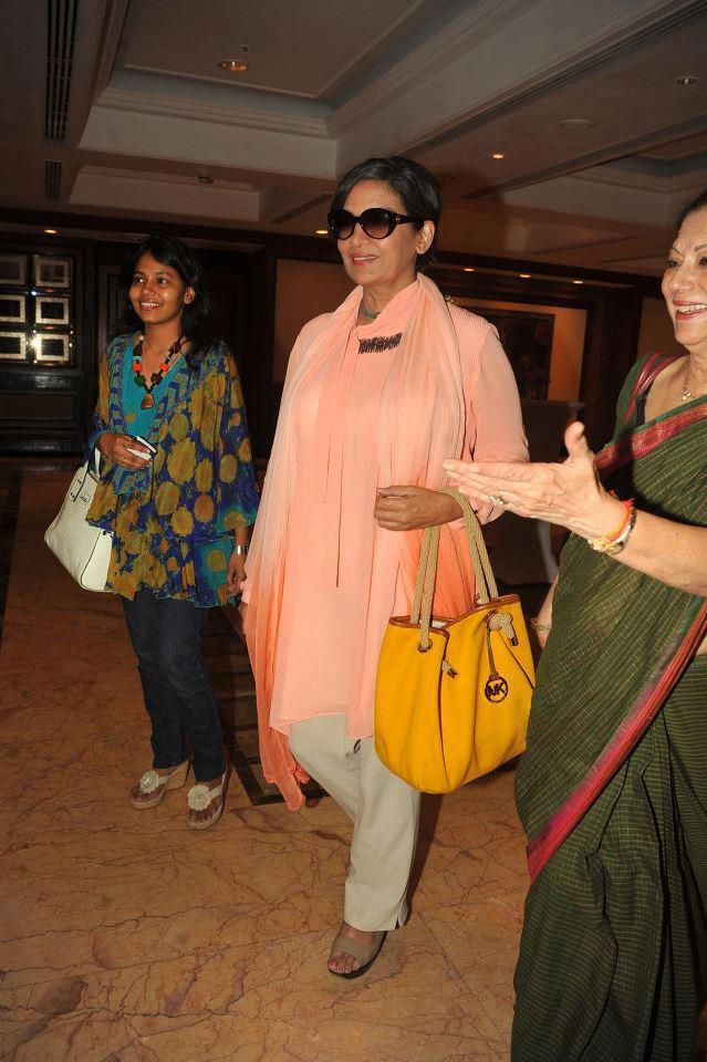 Shabana Azmi During The 4th Women Leaders Awards 2013