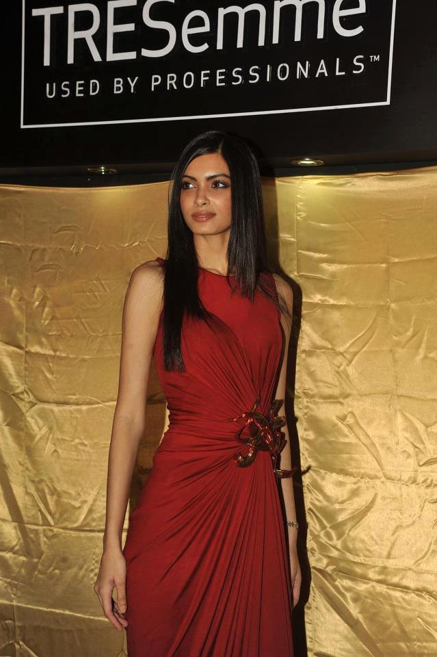 Bollywood Actress Diana Penty At TRESemme Hair Care Products Launching Event