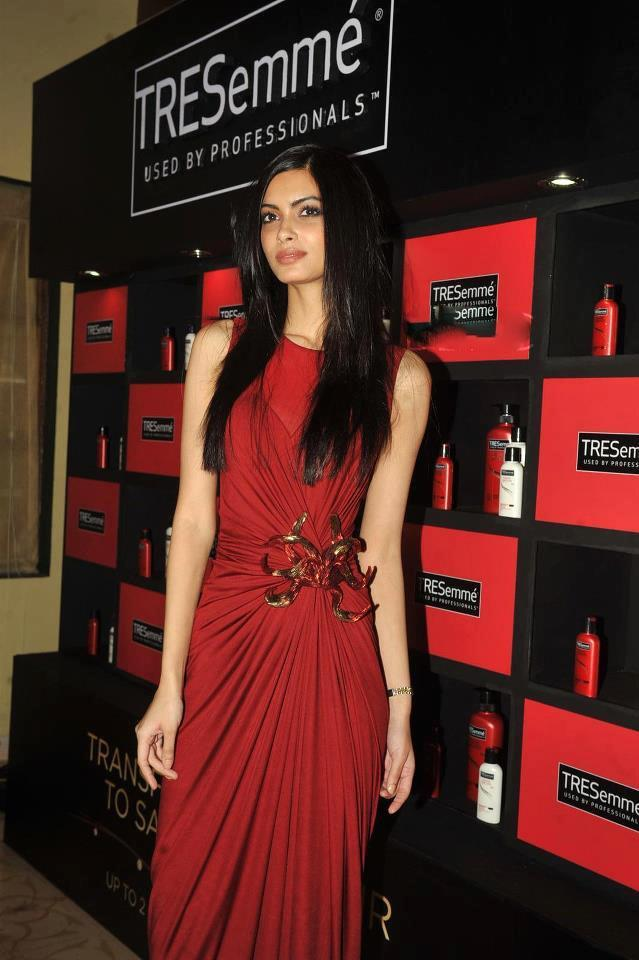 Diana Penty Posed During The Launch Of TRESemme Hair Care Products