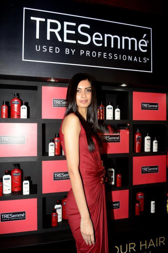 Diana Penty Strikes A Pose At TRESemme Hair Care Products Launch Event