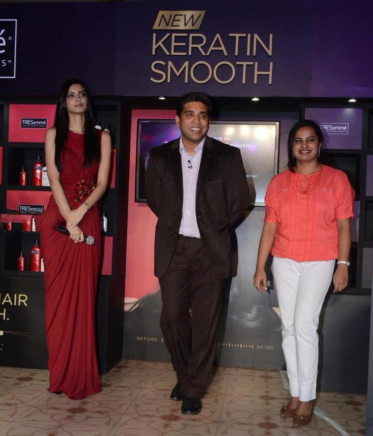 Diana Penty Unveils The New Range Of TRESemme Hair Care Products