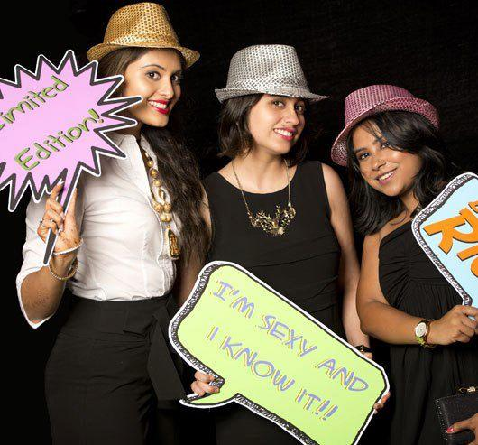 Celeb Guest Posed In Fun Look At Farah Khan Ali Post Launch Party