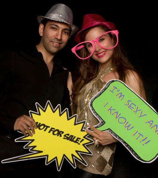 Guests Clicked Cool Funny Photo At Farah Khan Ali Post Launch Party