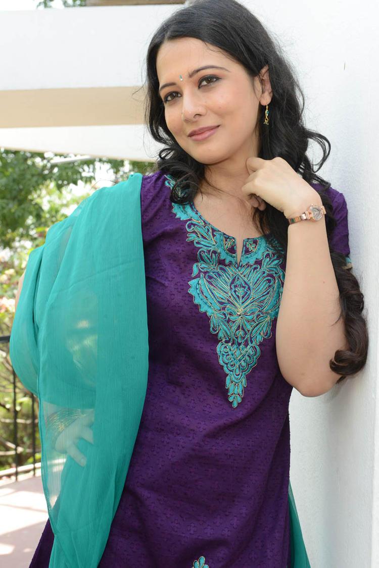 Megha Barman Present At Ralugayi Movie Opening Event