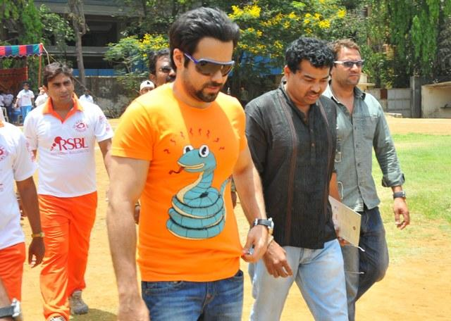 Emraan Hashmi Arrived At Media Cup Cricket Tournament