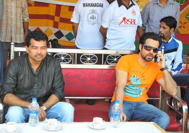 Emraan Hashmi Enjoy The Game At Media Cup Cricket Tournament