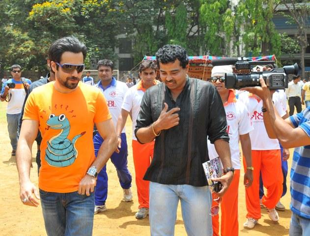 Emraan Hashmi Snapped At Media Cup Cricket Tournament