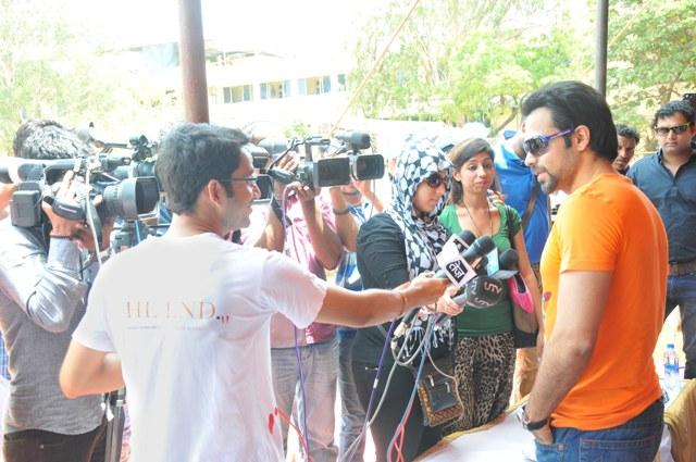 Emraan Speaks Out Photo Clicked At Media Cup Cricket Tournament