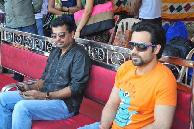 Emraan Spotted At Media Cup Cricket Tournament